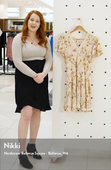 Agave Floral Minidress, sales video thumbnail