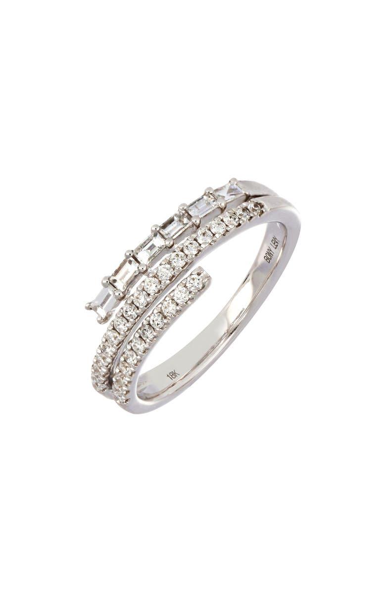 BONY LEVY Diamond Wrap Ring, Main, color, 711