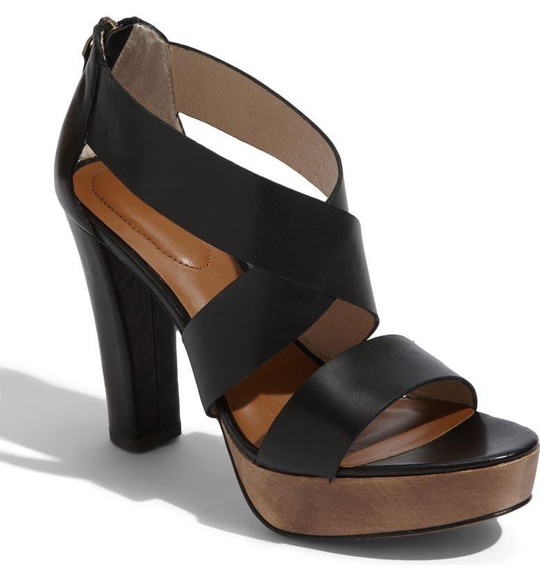 HALOGEN<SUP>®</SUP> 'Vivian' Sandal, Main, color, 001