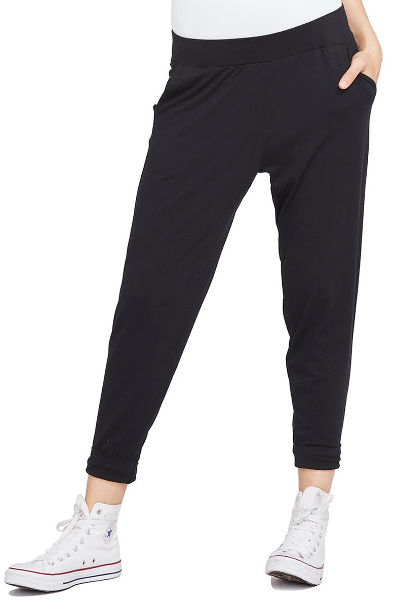 HATCH Easy Pants, Main, color, BLACK