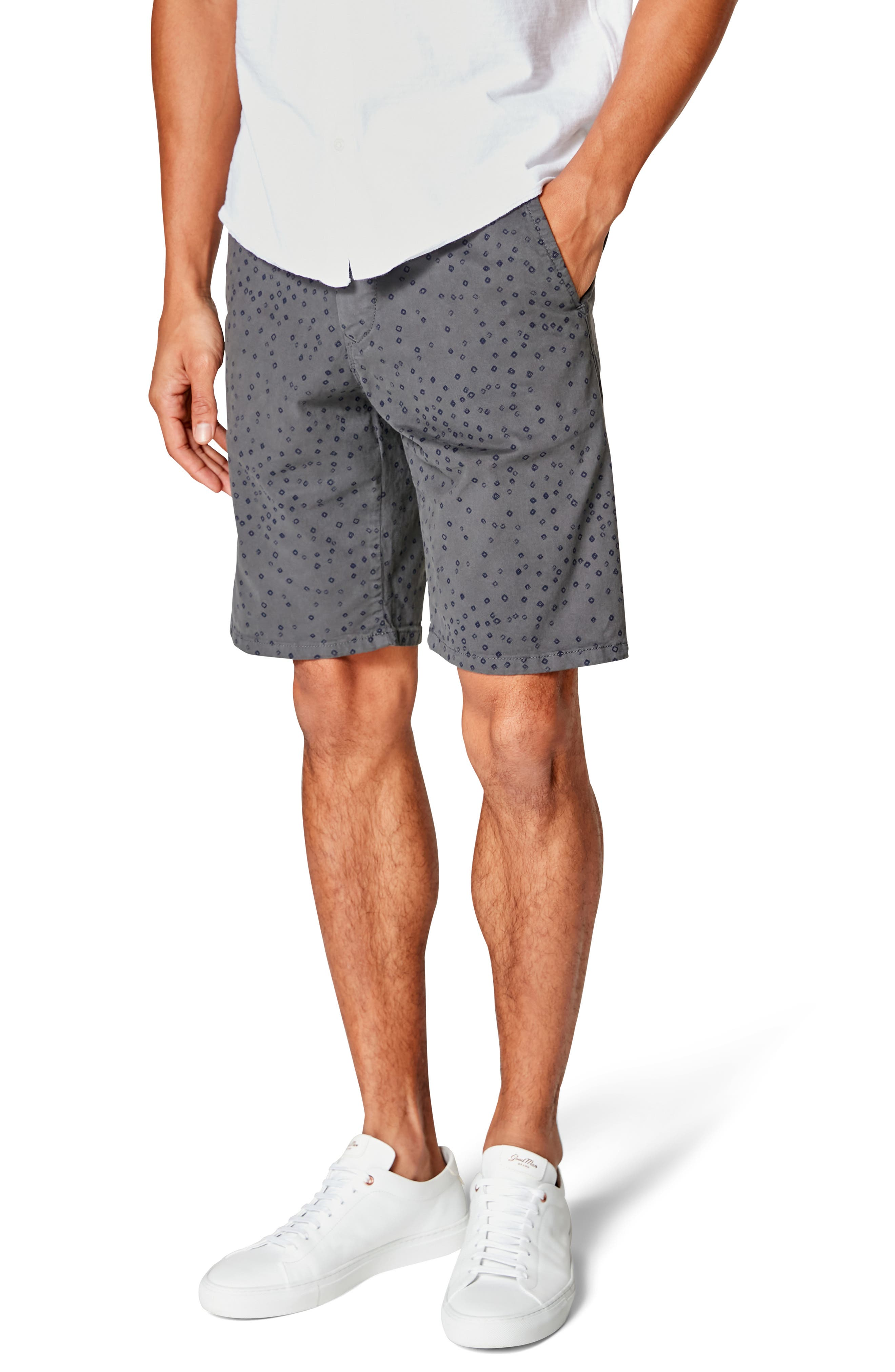 Image of Good Man Brand Monaco Slim Fit Flat Front Shorts