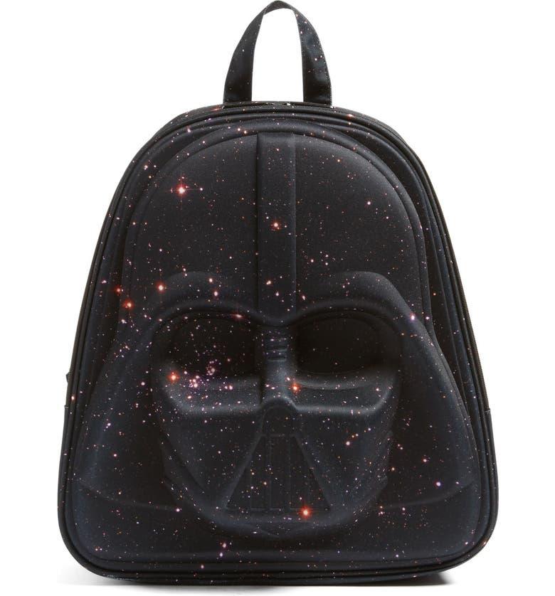 LOUNGEFLY 'Star Wars<sup>™</sup> - Darth Vader Galaxy' Backpack, Main, color, 001