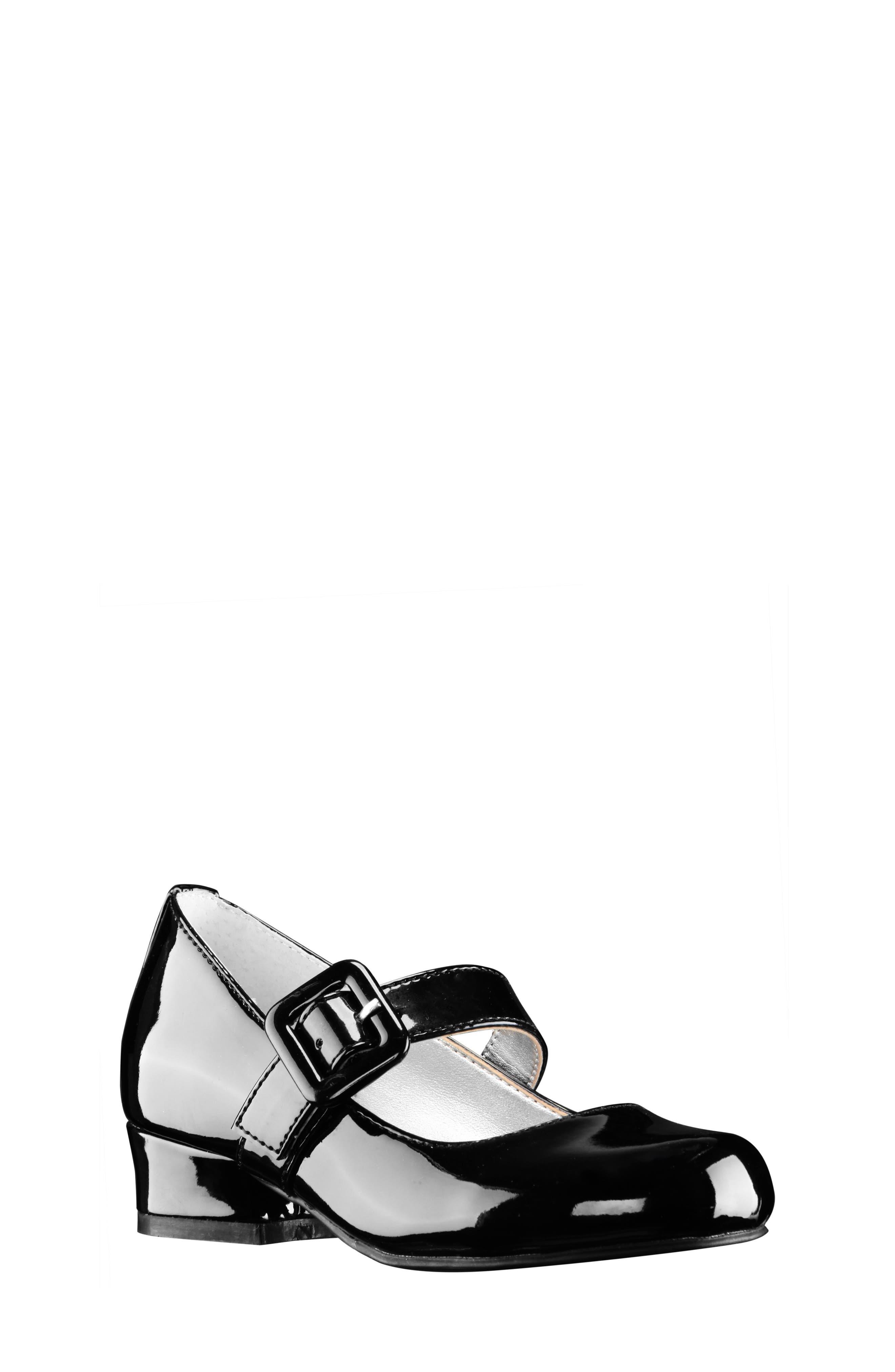 Toddler Girls Nina Juli Patent Mary Jane Pump Size 9 M  Black