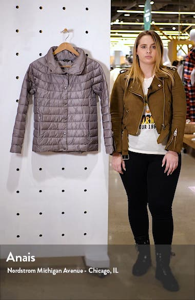 Aerielle Channel Quilted Puffer Jacket, sales video thumbnail