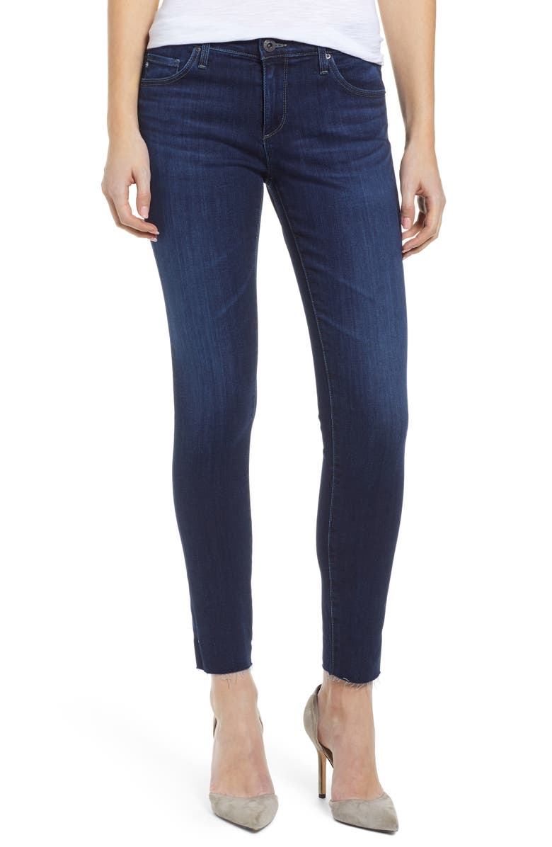 AG The Legging Ankle Super Skinny Jeans, Main, color, CONCORD