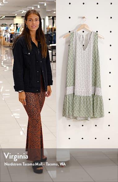 Chickie Floral Sleeveless Minidress, sales video thumbnail
