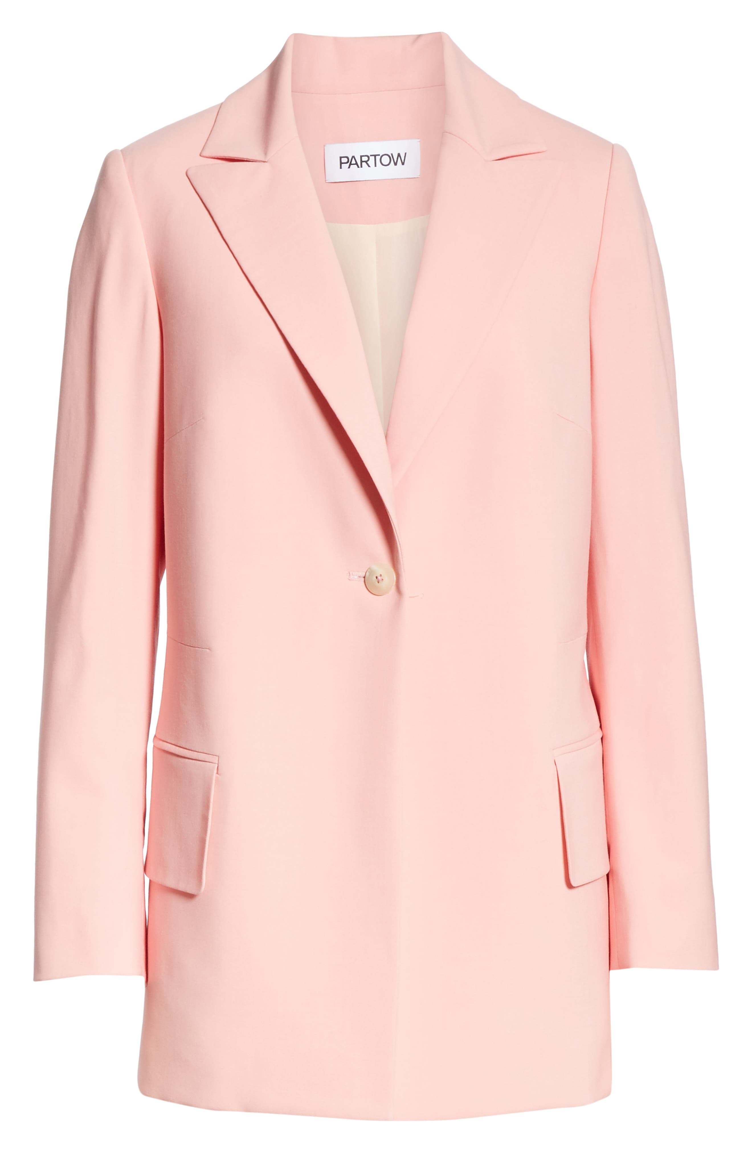 ,                             Brody Stretch Wool Jacket,                             Alternate thumbnail 6, color,                             ROSE
