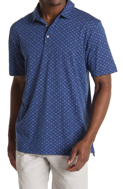 Image of Peter Millar Floral Trio Polo Shirt