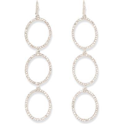 Sole Society Crystal Drop Earrings