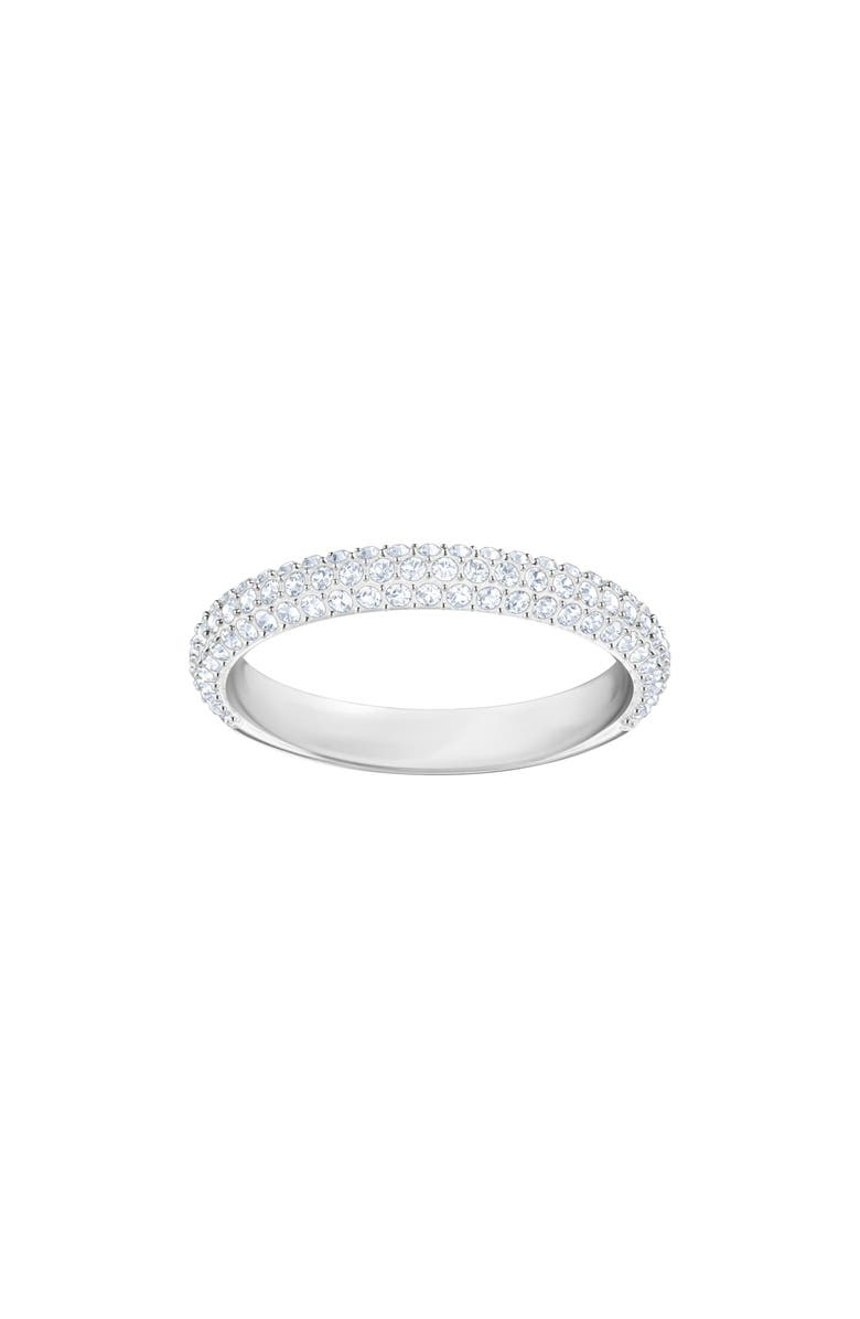 SWAROVSKI Crystal Band Ring, Main, color, 040