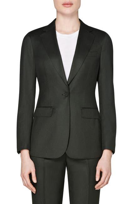 Image of SUISTUDIO Cameron Single Breasted Wool Jacket
