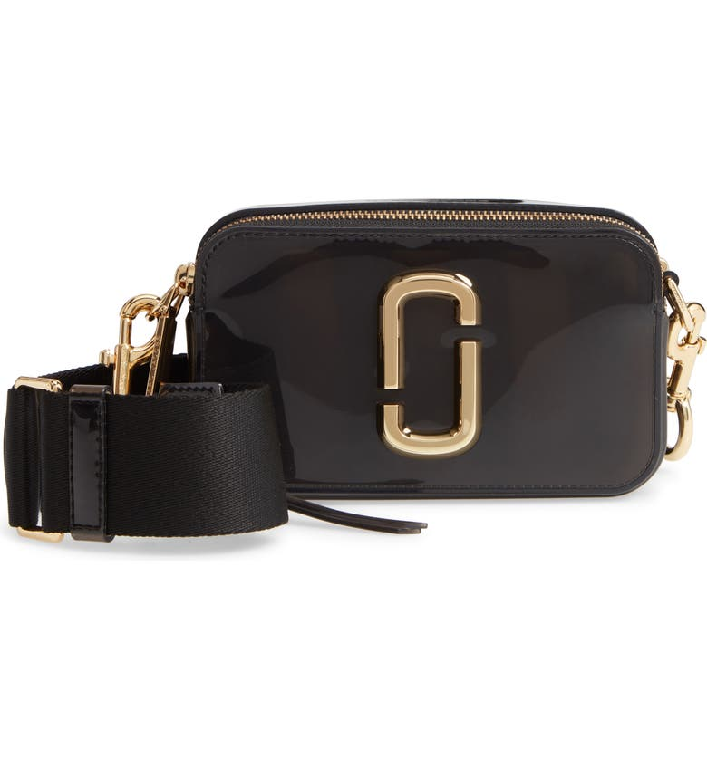 MARC JACOBS The Jelly Snapshot Crossbody Bag, Main, color, 001