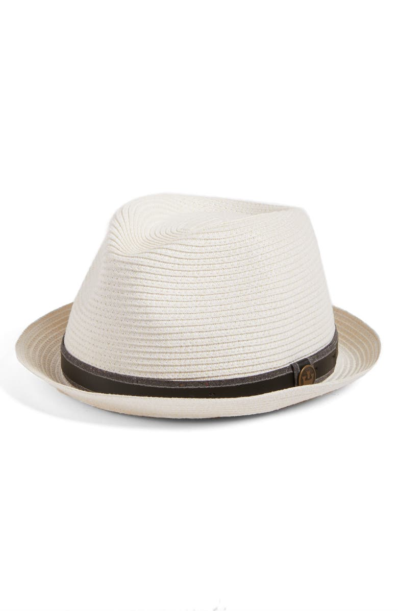 GOORIN BROS. Goorin Brothers Relax Straw Fedora, Main, color, 100