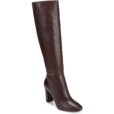 Vince Vita Knee High Boot- Burgundy (Nordstrom Exclusive)