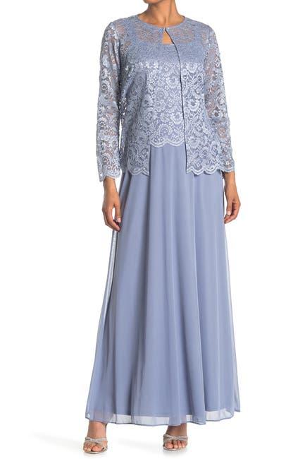 Image of Marina Lace Jacket & Gown