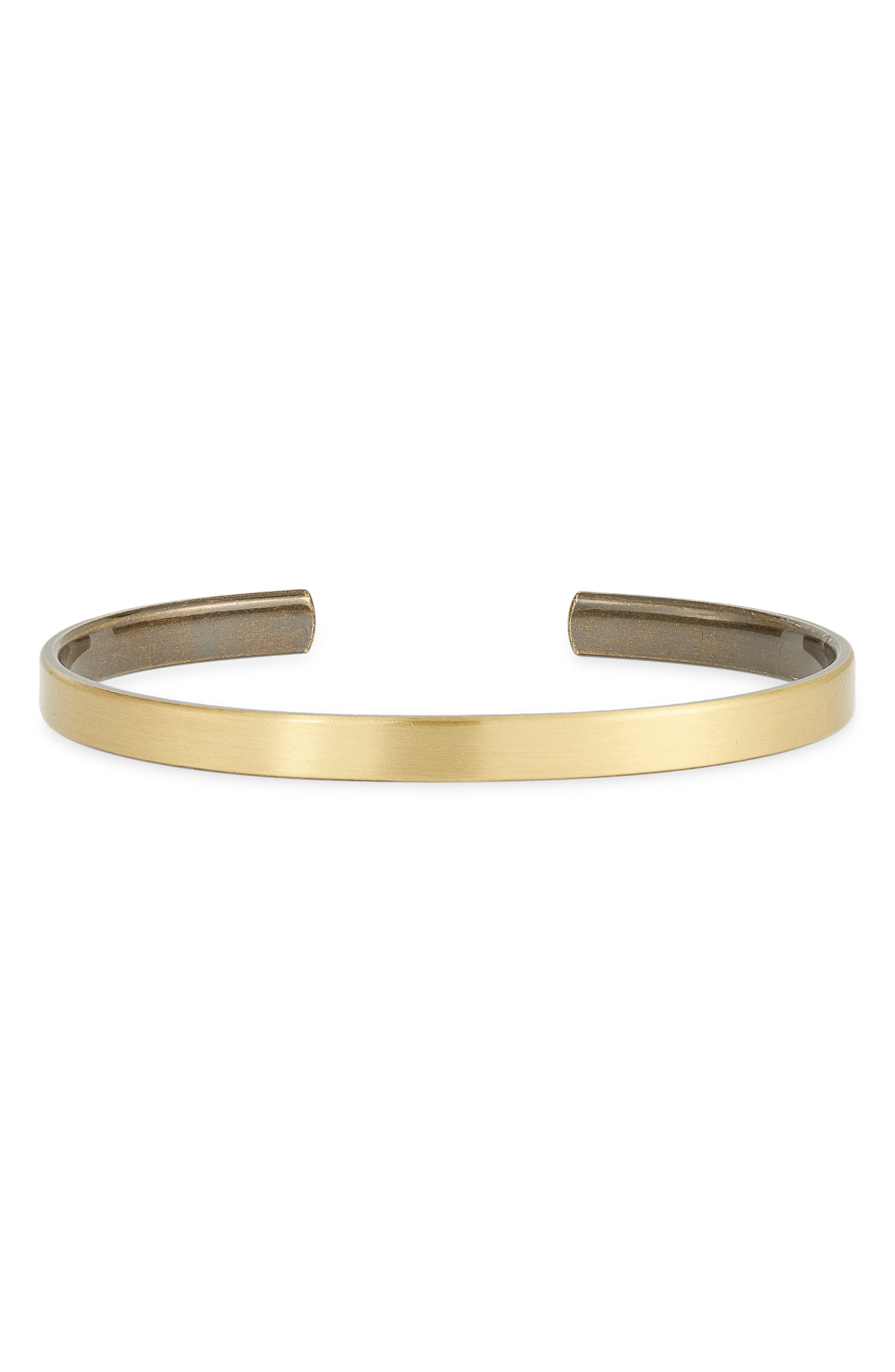 Men's Clean Cuff Bracelet