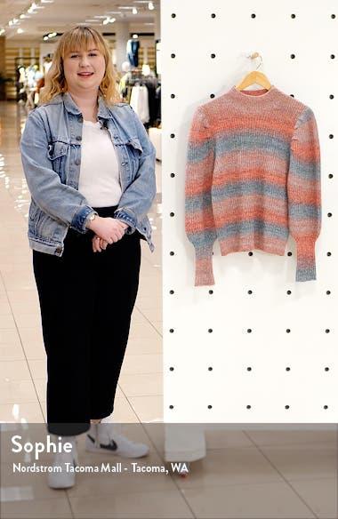 Stripe Space Dye Sweater, sales video thumbnail