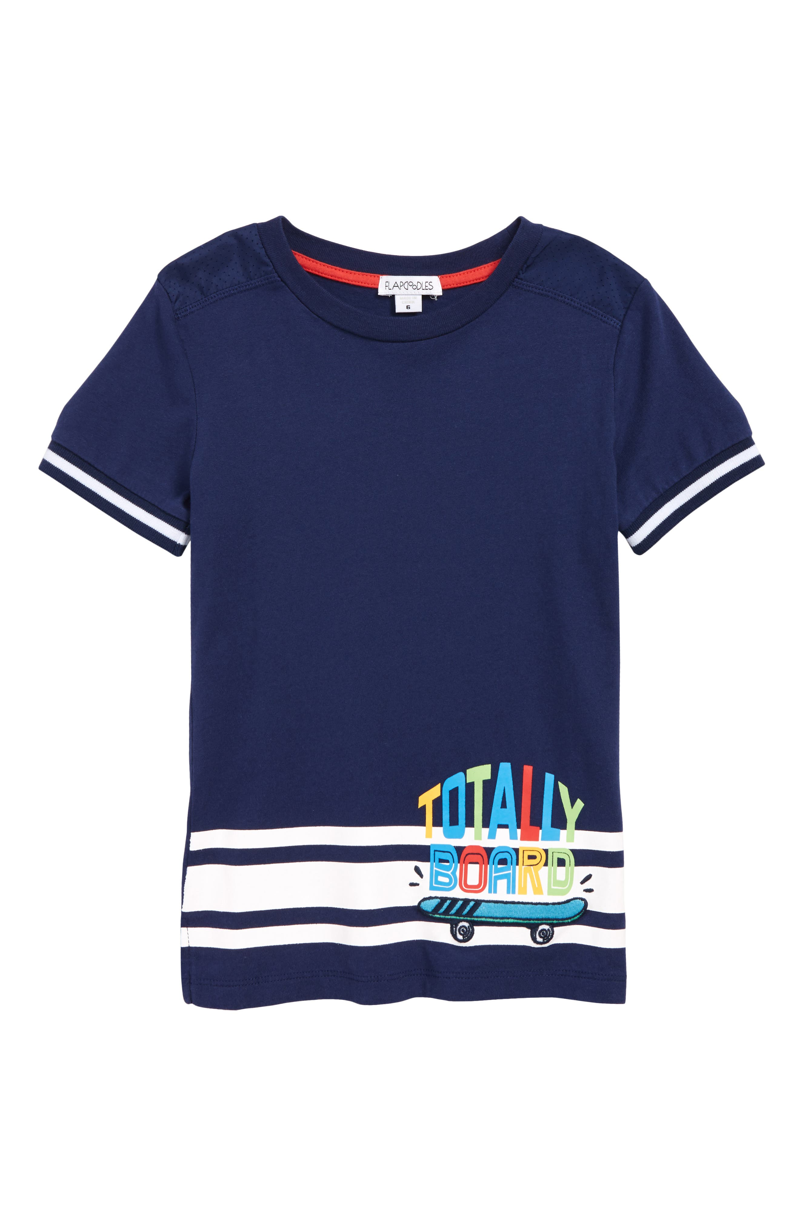 ,                             Totally Board T-Shirt,                             Main thumbnail 1, color,                             MEDIEVAL BLUE