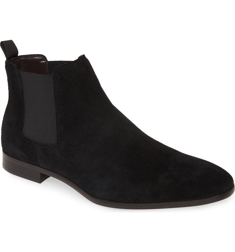 BP. Easton Chelsea Boot, Main, color, BLACK SUEDE
