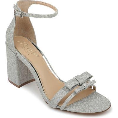 Jewel Badgley Mischka Rio Sandal, Metallic