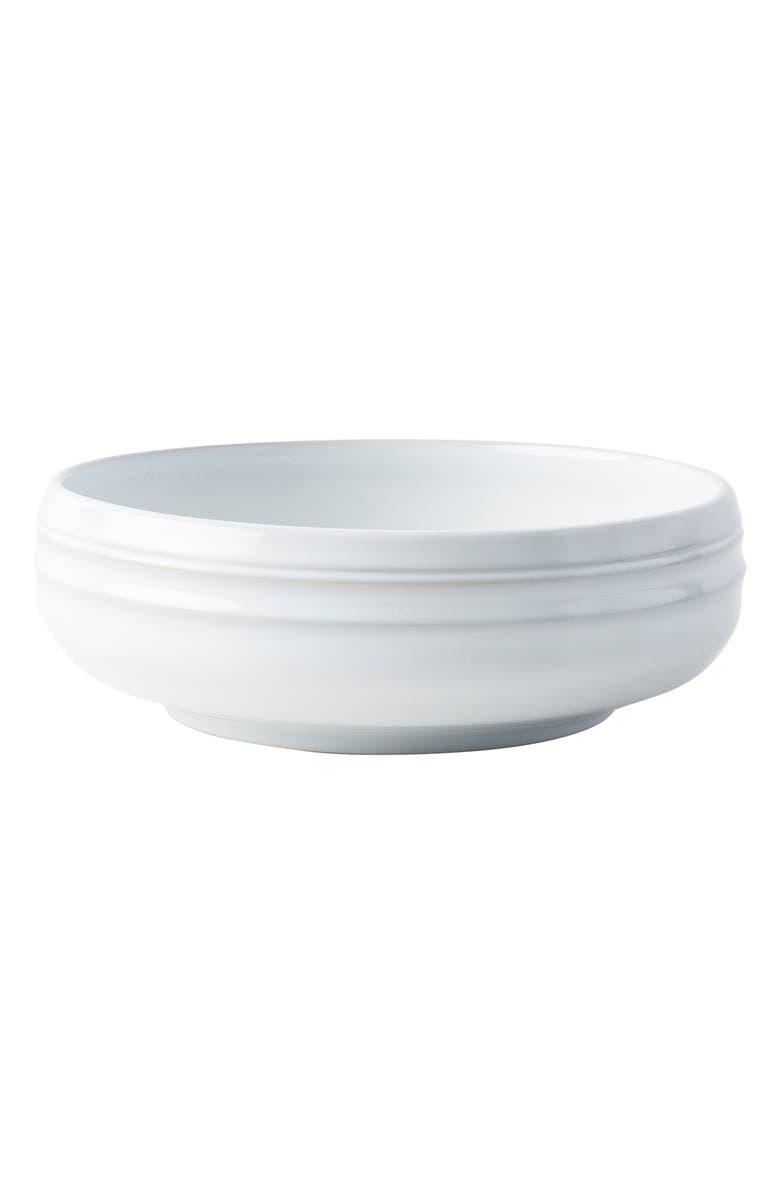 JULISKA Bilbao White Truffle Coupe Bowl, Main, color, 100