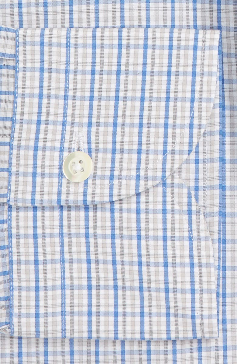 LEDBURY Slim Fit Check Dress Shirt, Main, color, 450