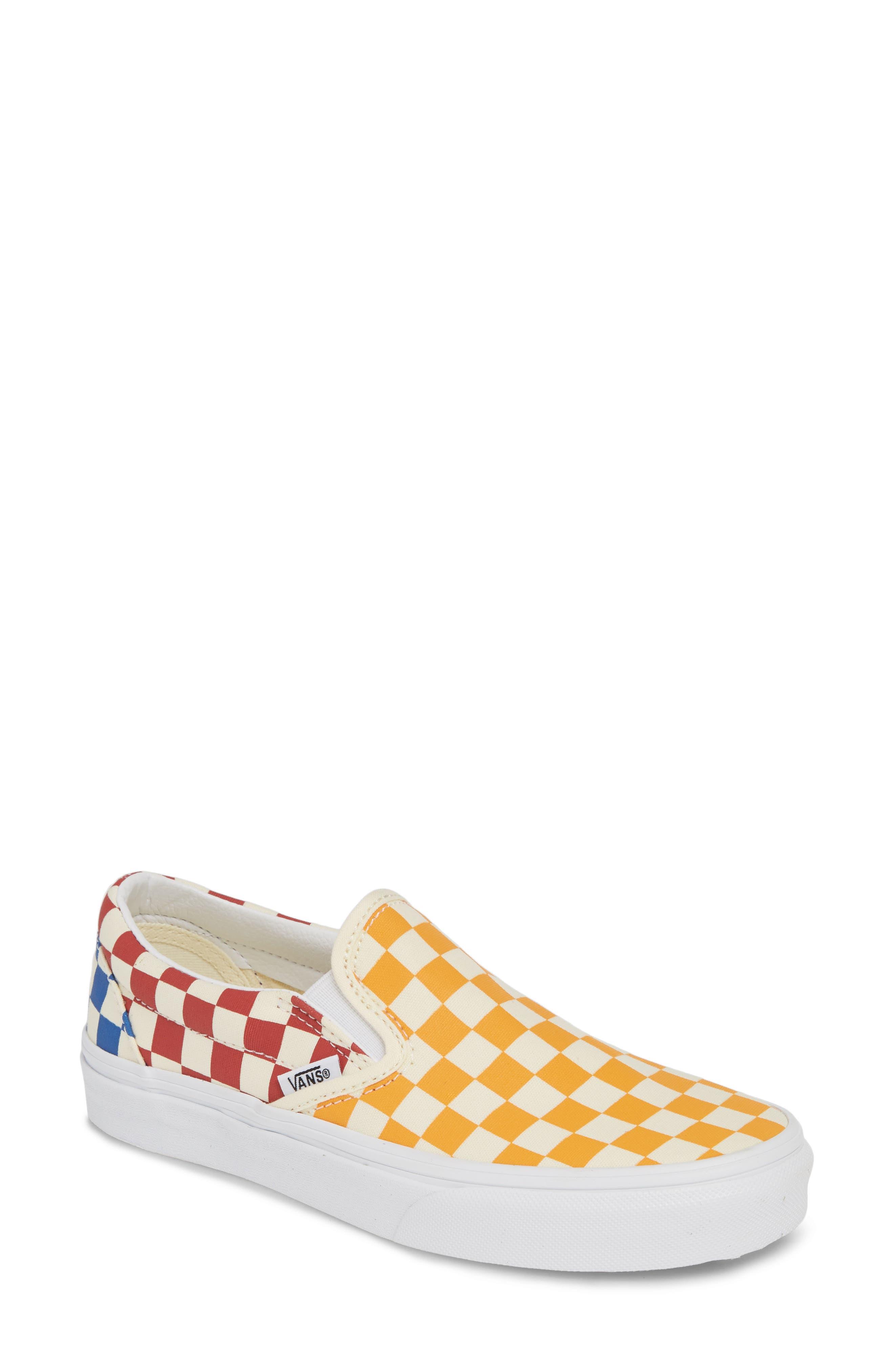 Vans Classic Slip-On Sneaker, Orange