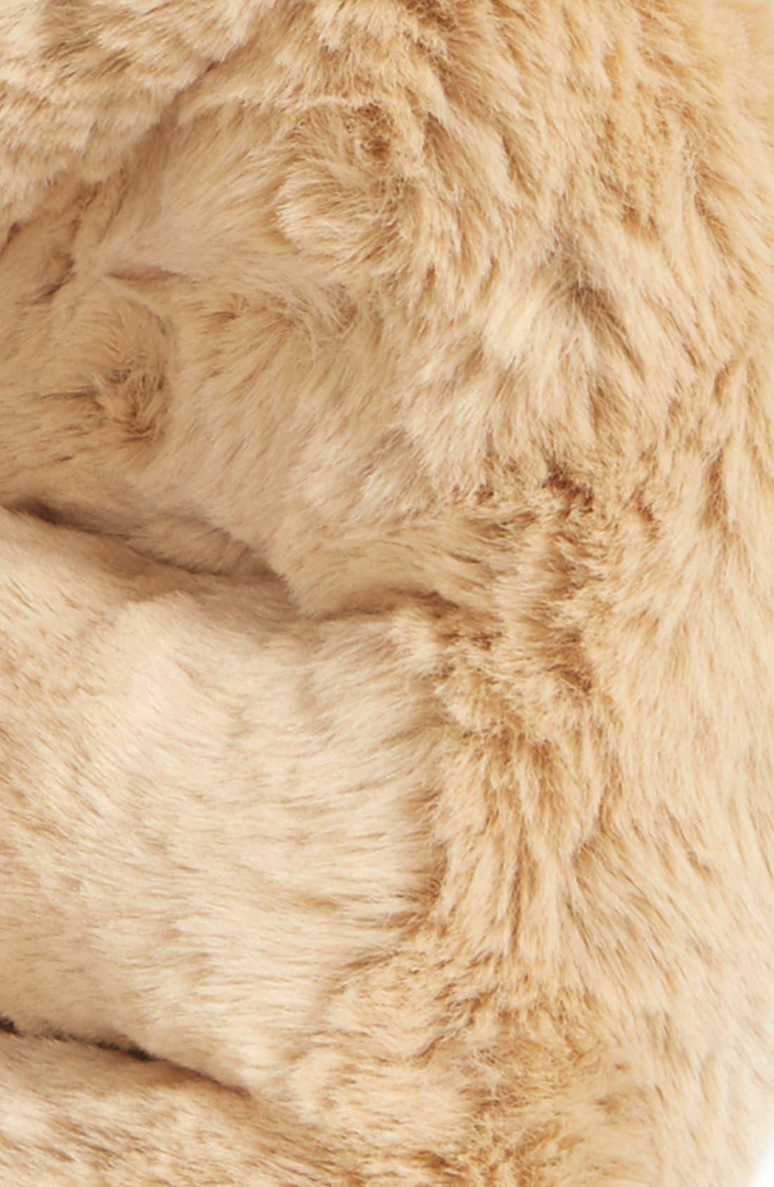 ,                             Faux Rabbit Fur Snood,                             Alternate thumbnail 5, color,                             235