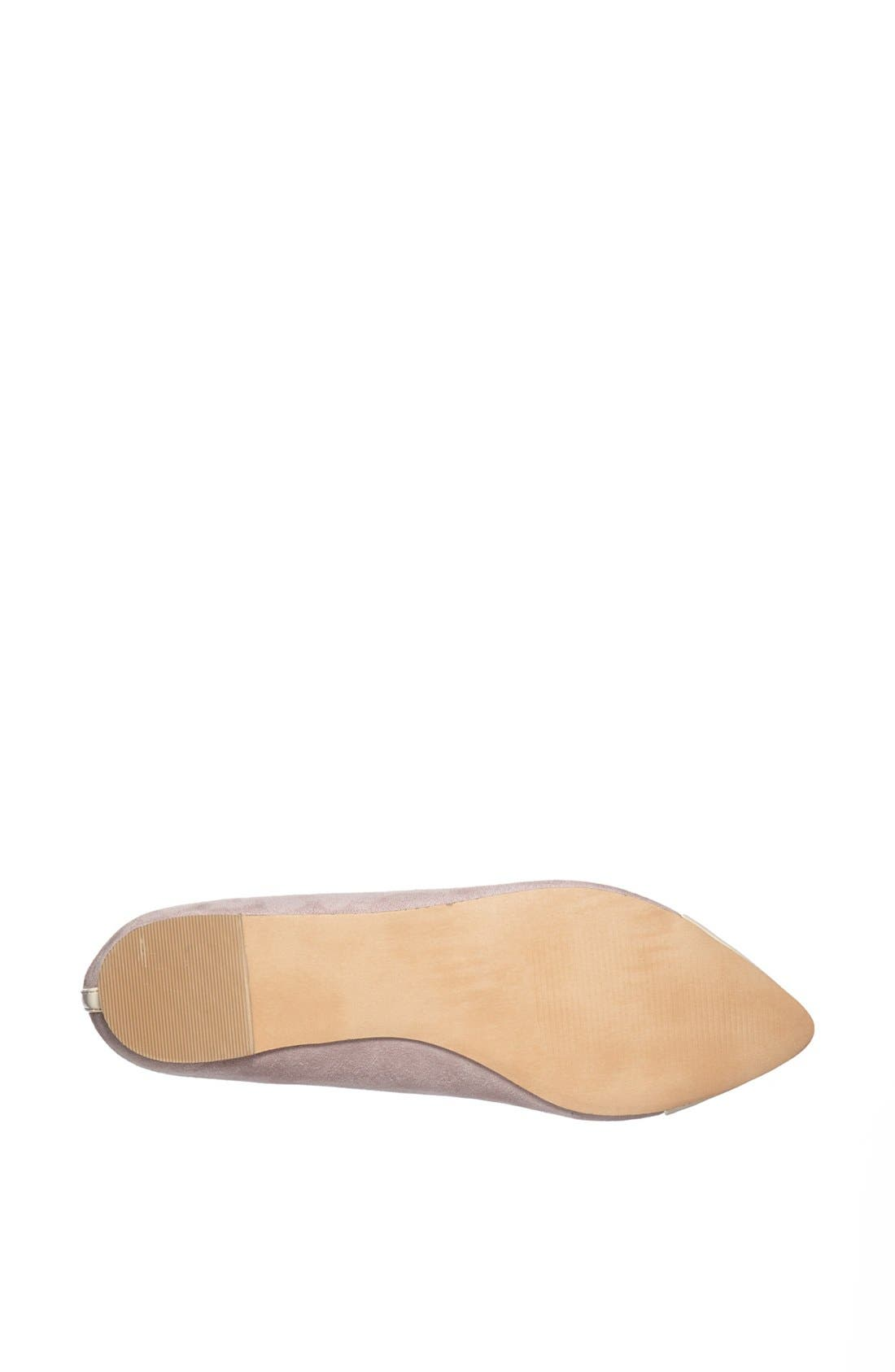 ,                             Julianne Hough for Sole Society 'Addy' Flat,                             Alternate thumbnail 9, color,                             060