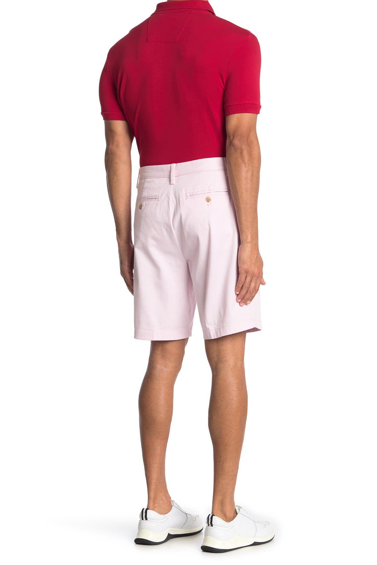 Image of Nautica Flat Front Stretch Deck Shorts