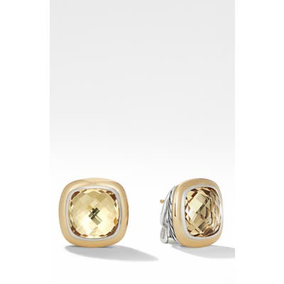 David Yurman Albion Stud Earrings With 18K Gold