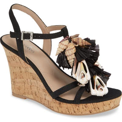 Charles By Charles David La Jolla Platform Wedge Sandal