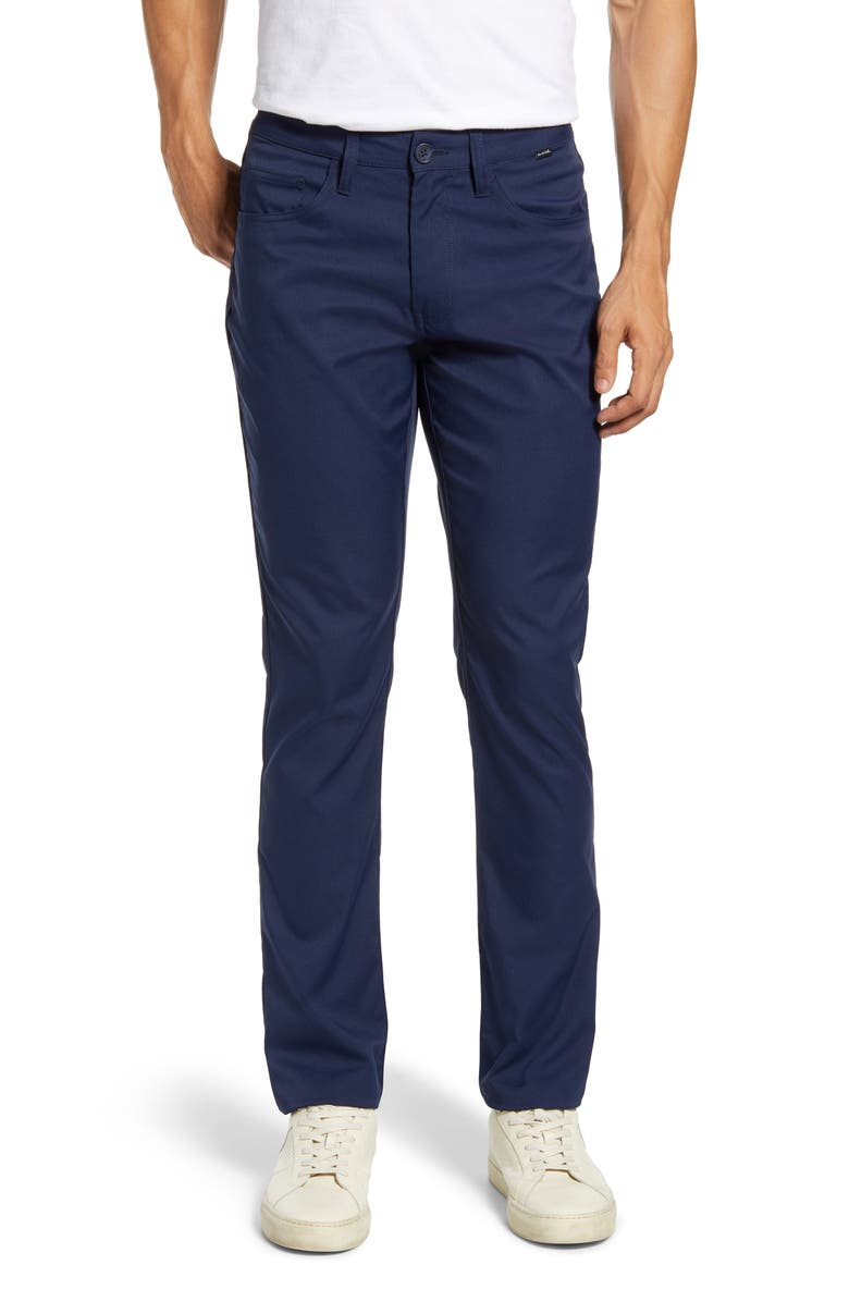 TRAVISMATHEW Level Up Slim Fit Pants, Main, color, NAVY