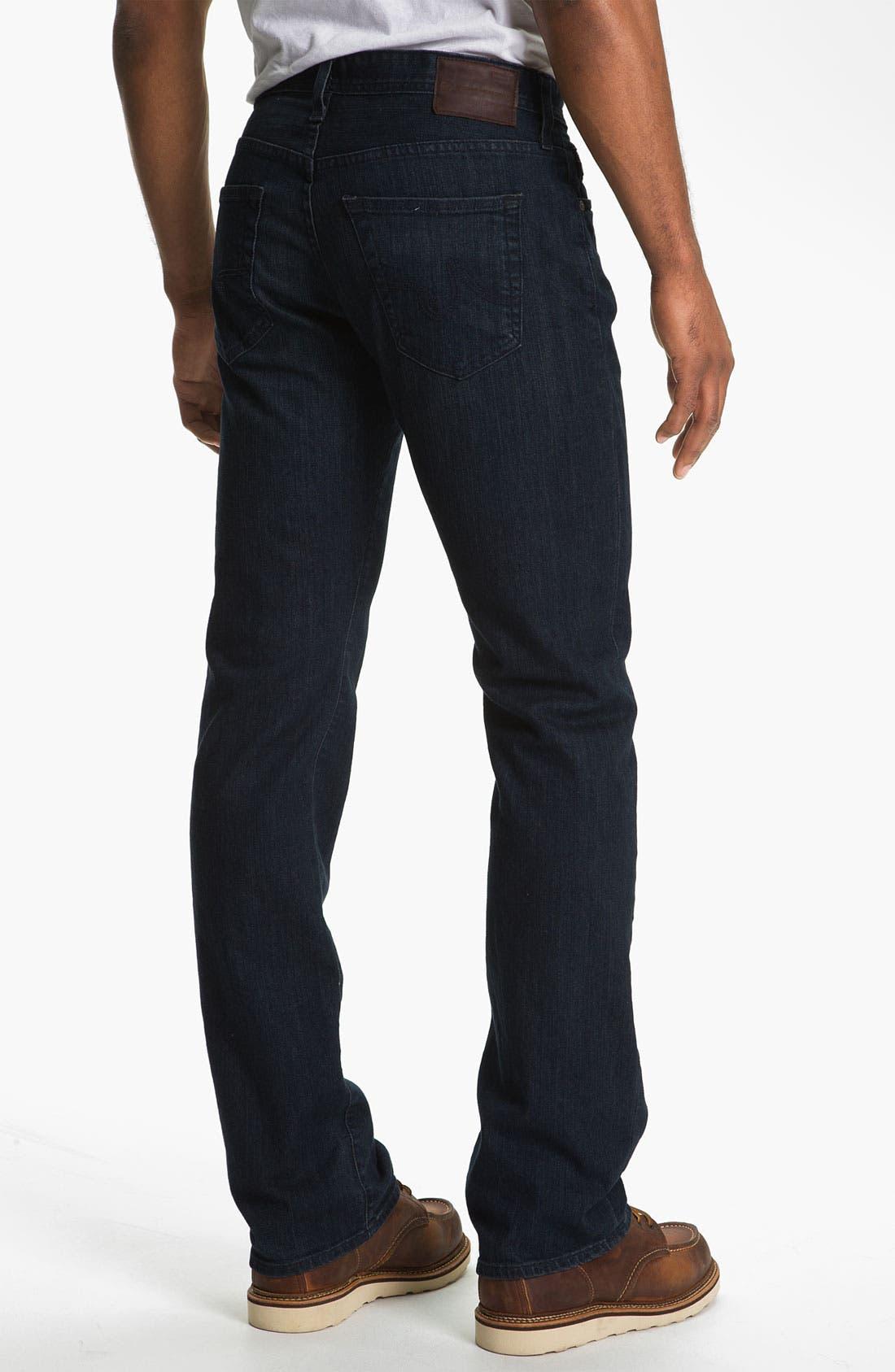 ,                             'Protégé' Straight Leg Jeans,                             Alternate thumbnail 19, color,                             409