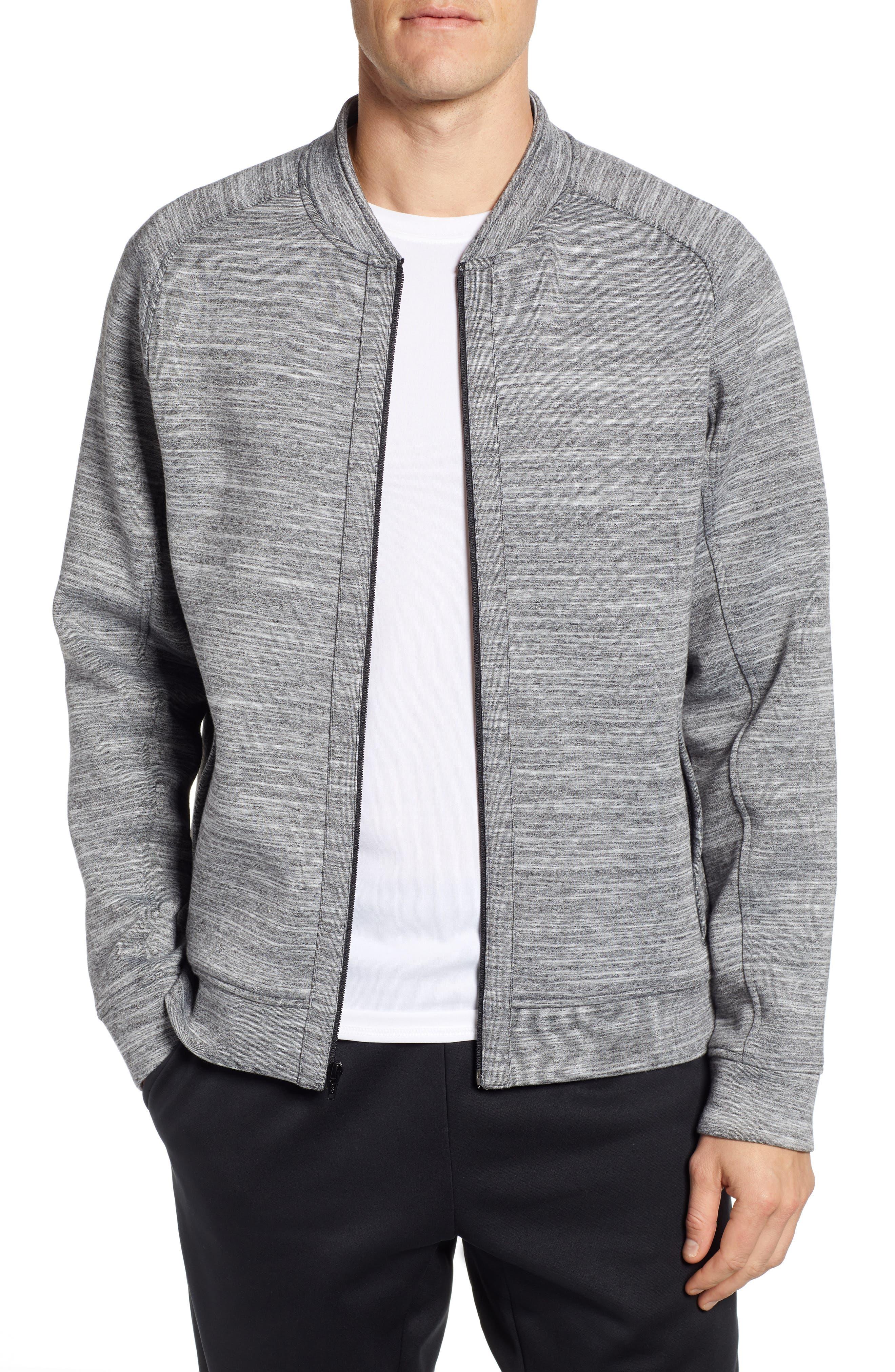 Zella Fleece Mix Jacket