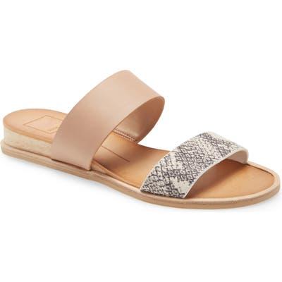 Dolce Vita Payce Slide Sandal, Grey