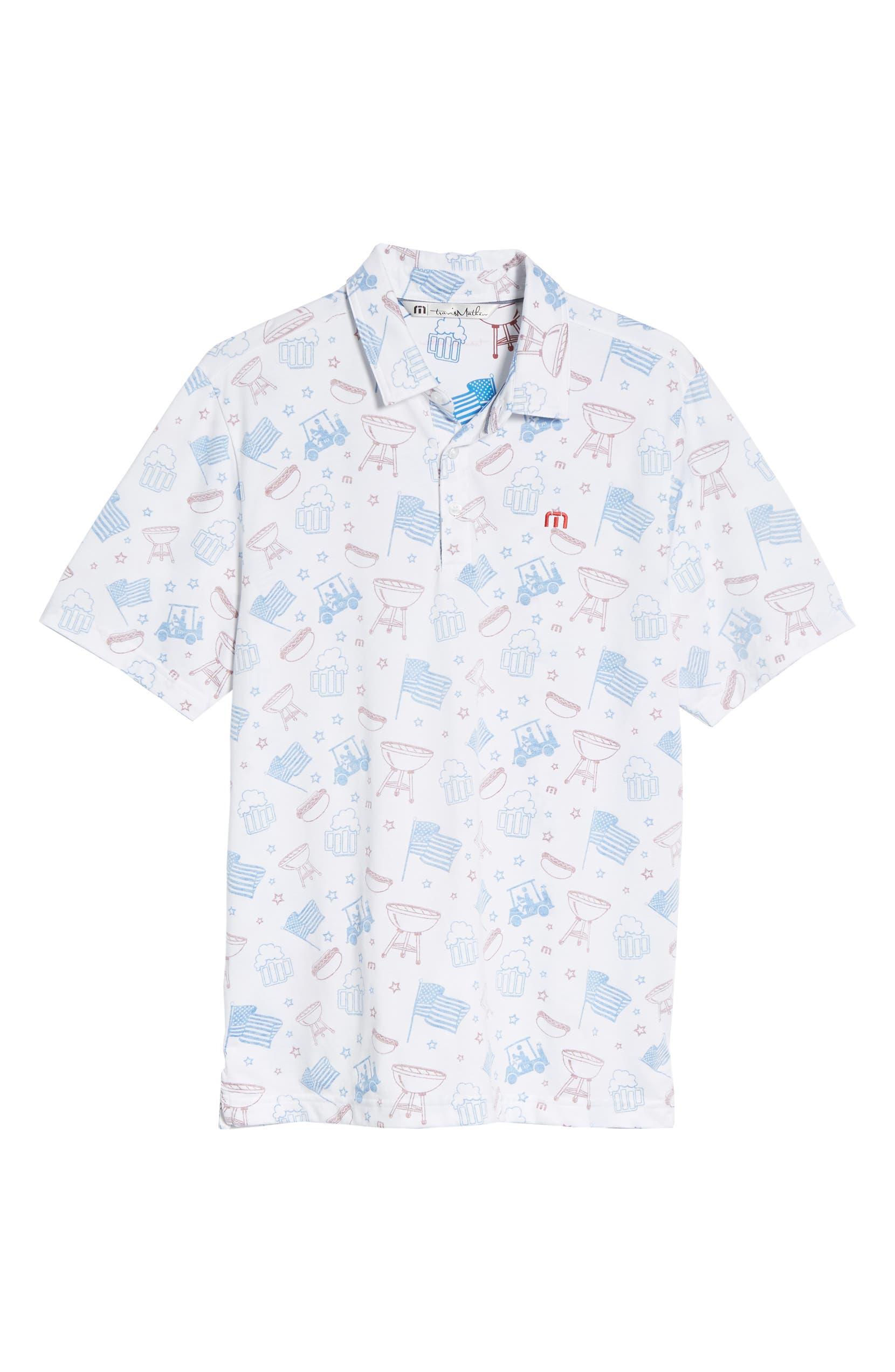 24aabd77 Travis Mathew Ahh Yeah Regular Fit Short Sleeve Sport Shirt | Nordstrom