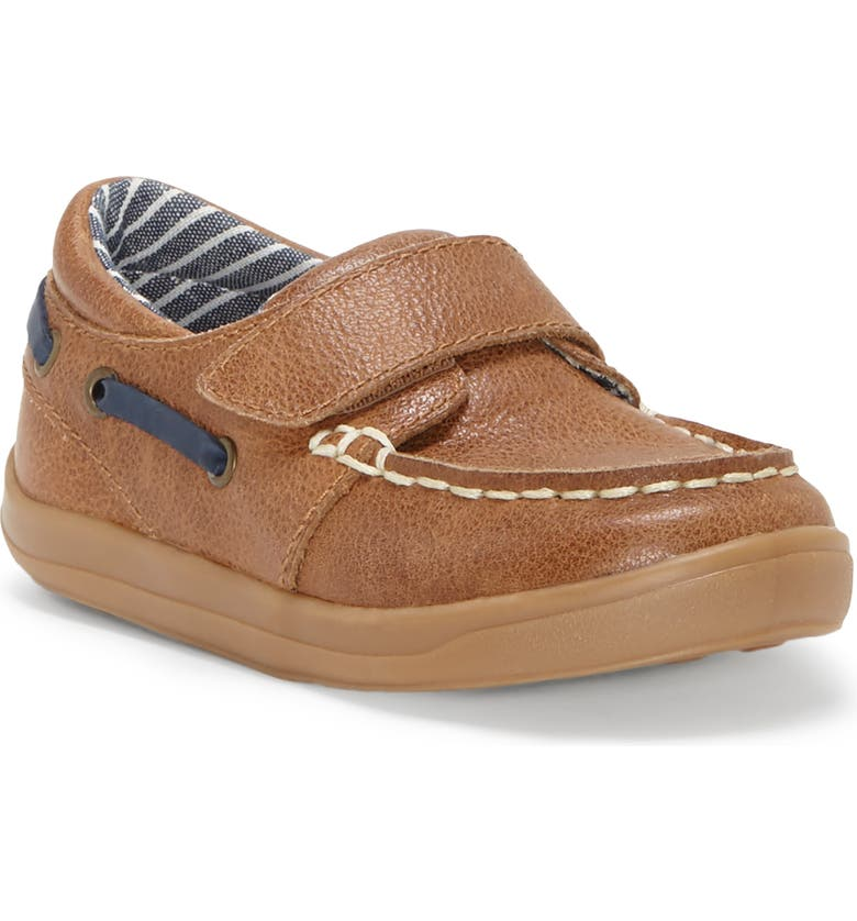 SOLE PLAY Luca Boat Moccasin, Main, color, TEDDY TAN