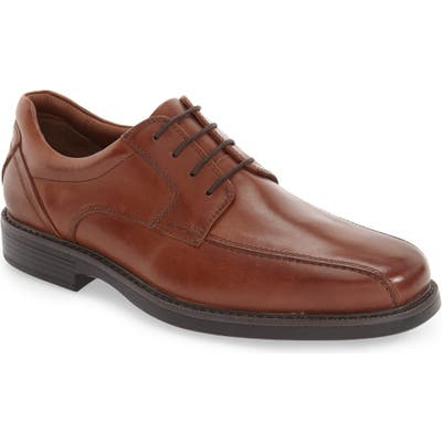 Johnston & Murphy Stanton Waterproof Bicycle Toe Derby, Brown