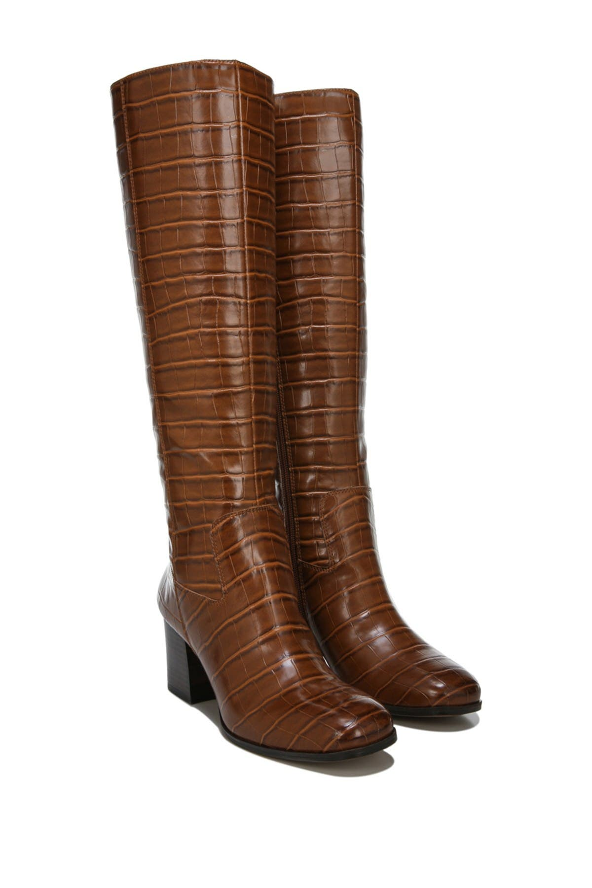 Image of Franco Sarto Anberlin Croc Embossed Boot