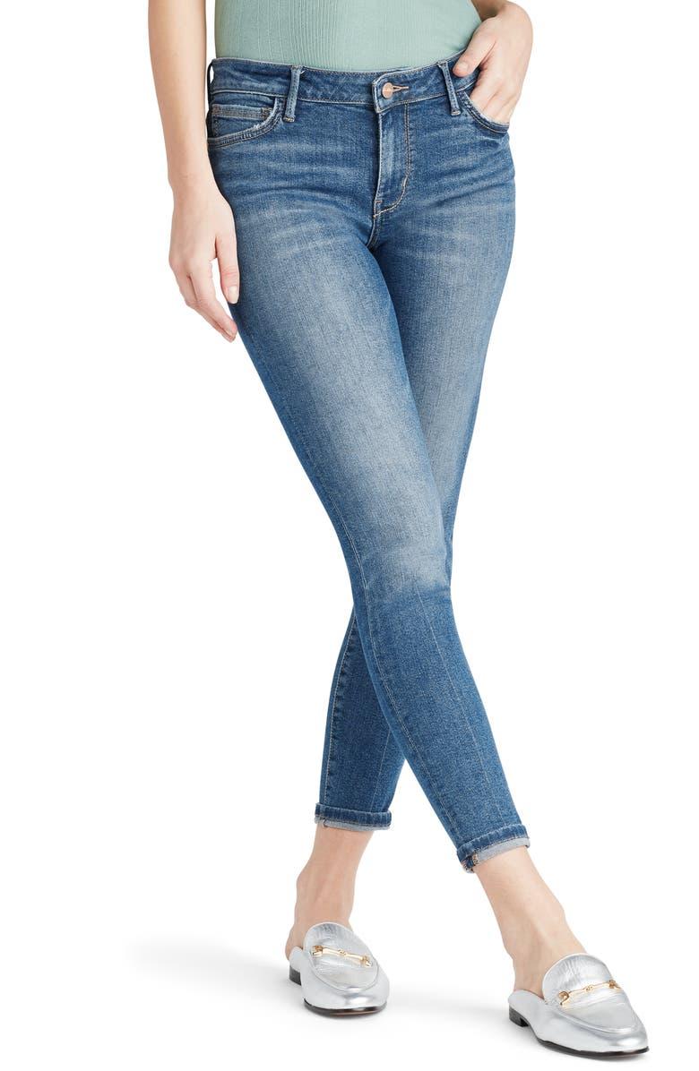 SAM EDELMAN The Kitten Ankle Skinny Jeans, Main, color, FAIRIE