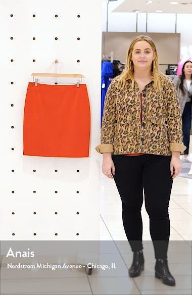 Two-Tone Jersey Miniskirt, sales video thumbnail