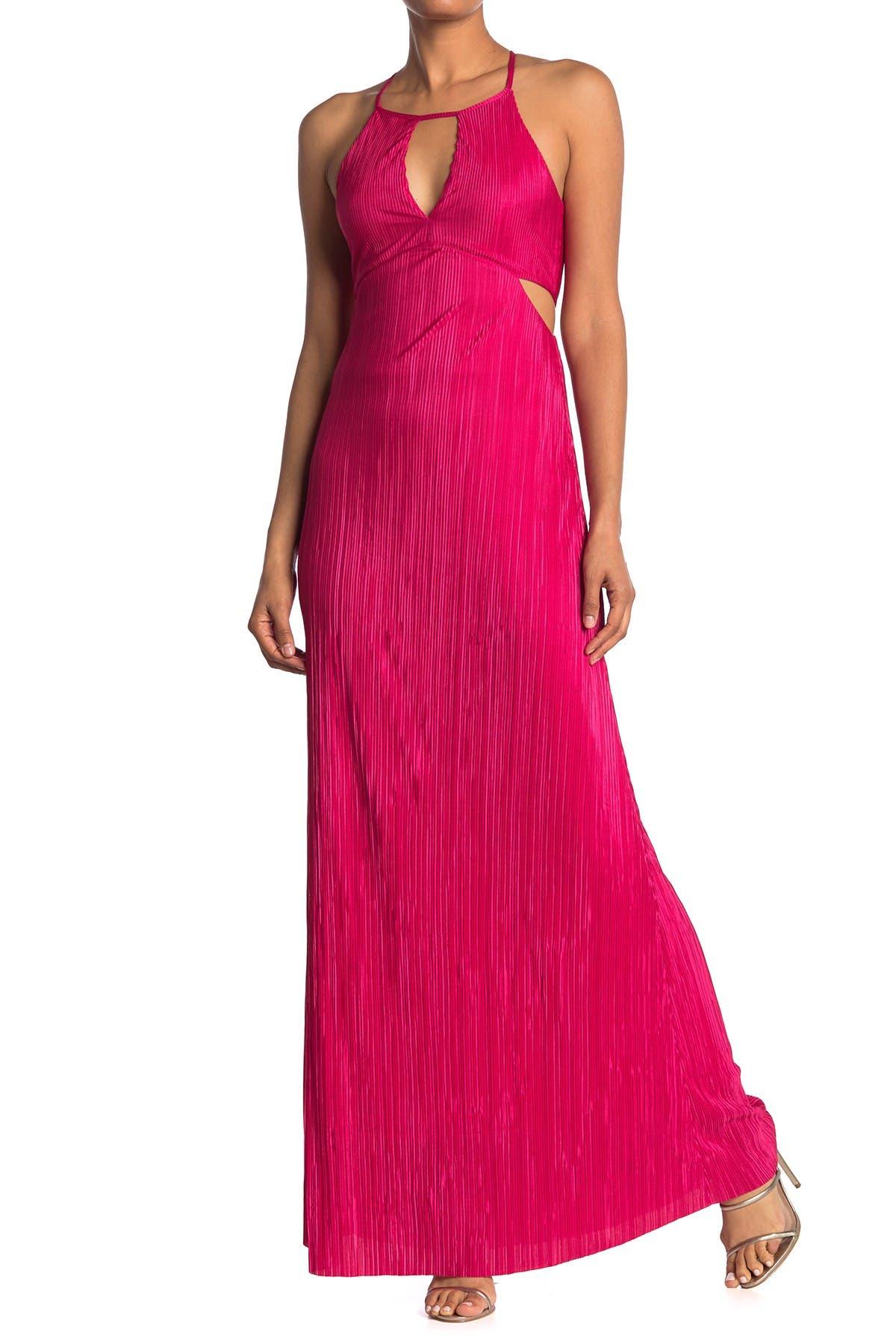 Image of BCBGeneration Sleeveless Cutout Maxi Dress