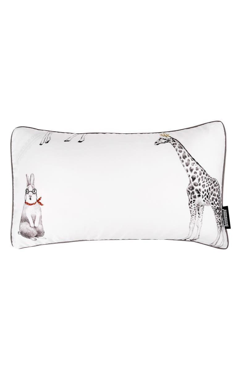 DONO & DONO Air Pillow with Pillowcase, Main, color, RETRO ANIMAL