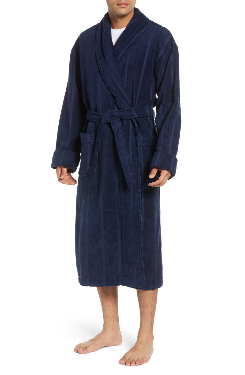 MAJESTIC INTERNATIONAL Ultra Lux Robe, Main, color, MARINE