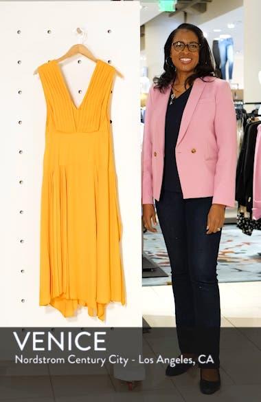 Pleated Pinafore Midi Dress, sales video thumbnail