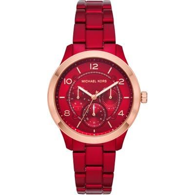 Michael Kors Runway Bracelet Watch,