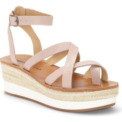 Lucky Brand Jakina Platform Wedge Sandal, Pink