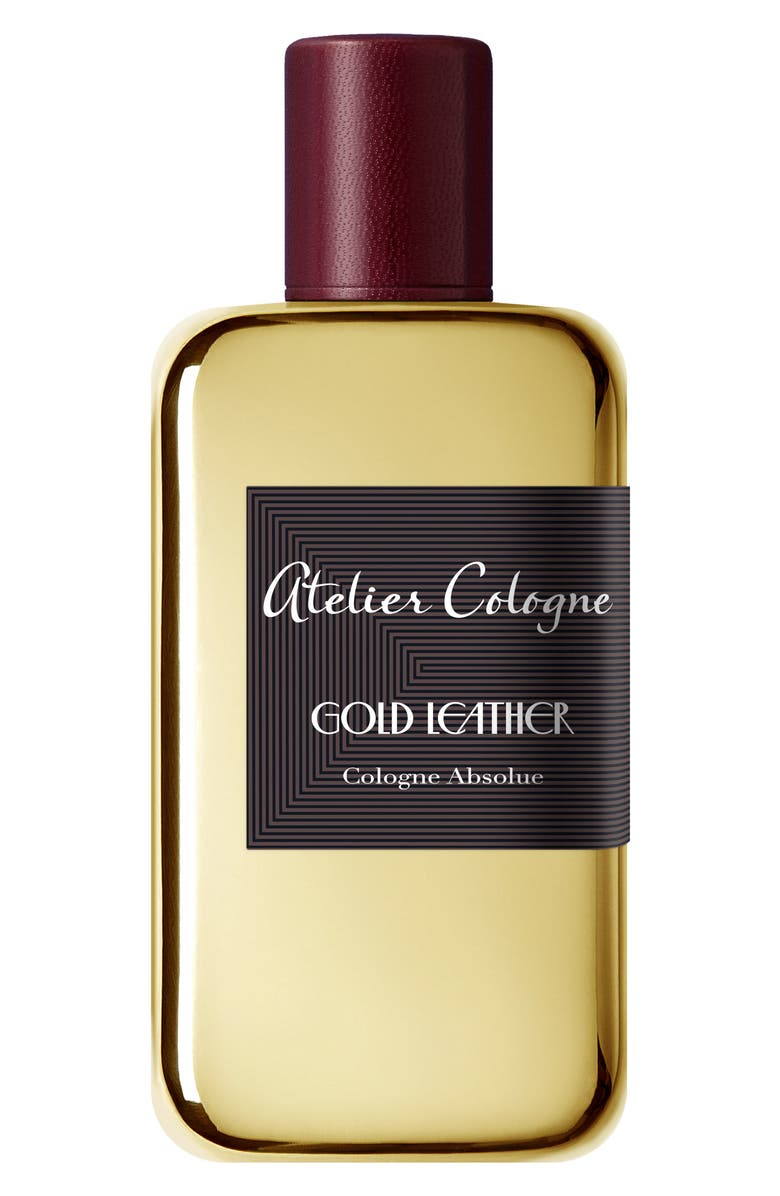 ATELIER COLOGNE Gold Leather Cologne Absolue, Main, color, NO COLOR