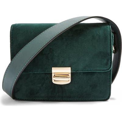 Topshop Samira Mini Shoulder Bag - Green